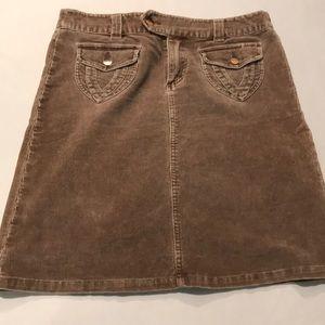 Billabong junior corduroy skirt size 9